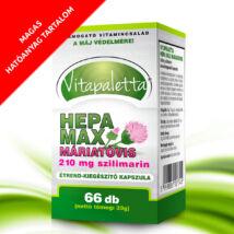 Vitapaletta Hepa Max Máriatövis 210 mg szilimarin étrend-kiegészítő kapszula